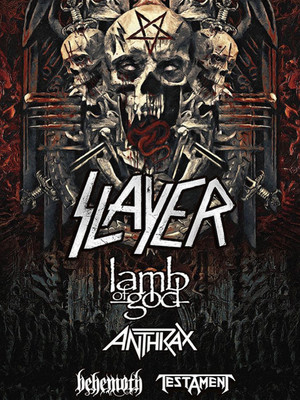 Slayer at Veterans Memorial Coliseum