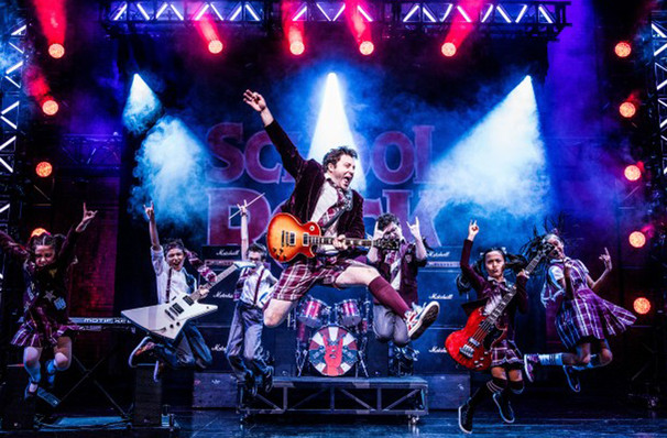 School of Rock, Mortensen Hall Bushnell Theatre, Hartford