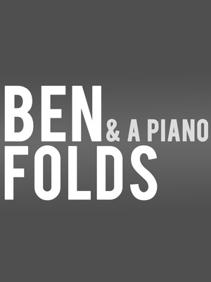 Ben Folds at Kennedy Center Concert Hall