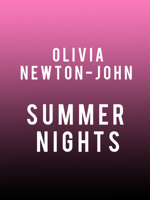 Olivia Newton John - Summer Nights Poster