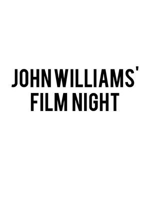 Boston Pops: John Williams' Film Night Poster