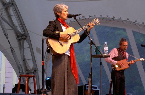Joan Baez, CNU Ferguson Center for the Arts, Newport News