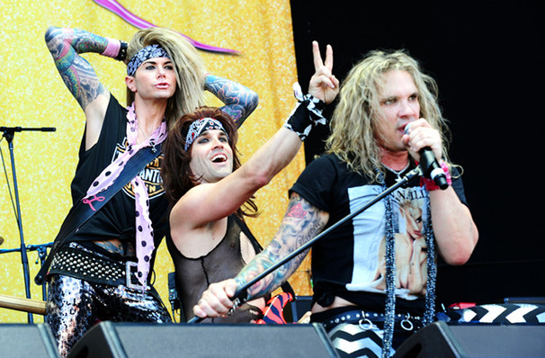 Catch Steel Panther it's not here long!