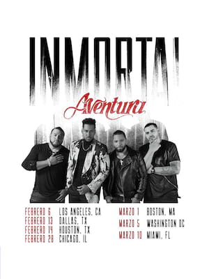 Aventura, Radio City Music Hall, New York