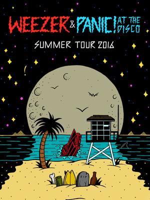 Weezer & Panic! At The Disco at Marymoor Amphitheatre