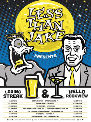 Less Than Jake at La Tulipe