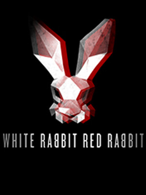 White Rabbit Red Rabbit Poster