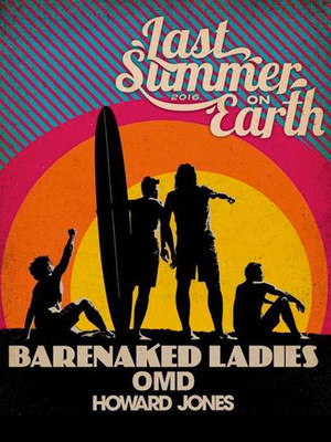 Barenaked Ladies, Orchestral Manoeuvres In The Dark & Howard Jones at Marymoor Amphitheatre