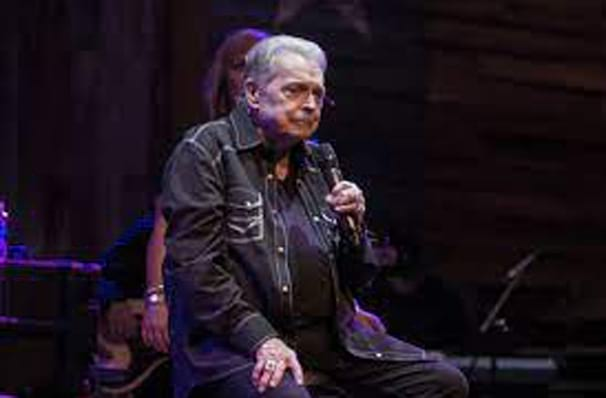 Just one chance to see Mickey Gilley