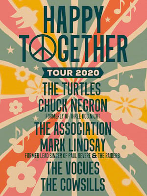Happy Together Tour, Charleston Music Hall, North Charleston