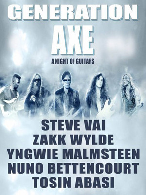 Generation Axe: Steve Vai, Zakk Wylde, Yngwie Malmsteen, Numo Bettencourt & Tosin Abasi at The Joint