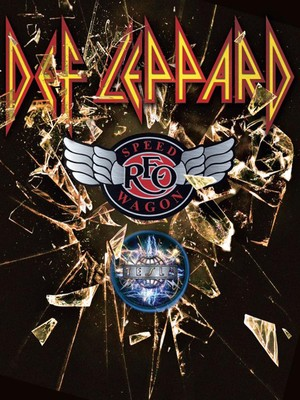 Def Leppard, REO Speedwagon & Tesla at Tacoma Dome