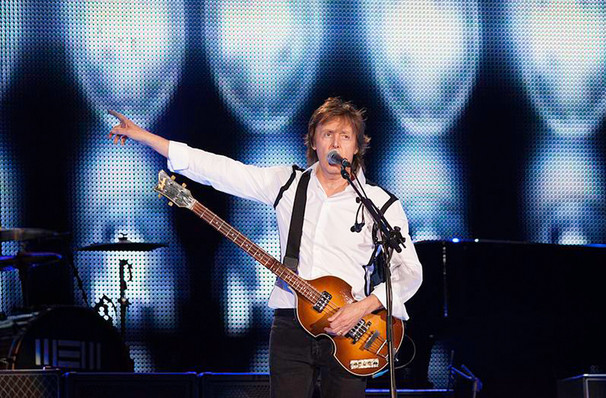 Paul McCartney, Carrier Dome, Syracuse