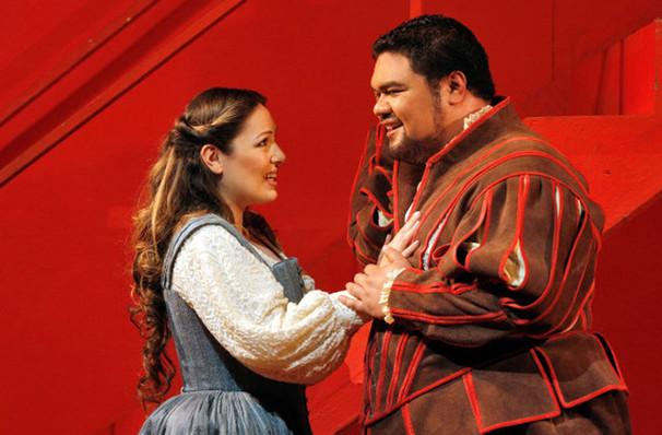 San Francisco Opera Rigoletto, War Memorial Opera House, San Francisco