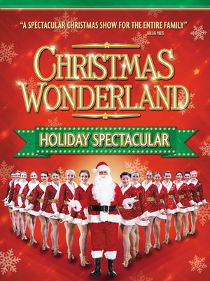 Broadway Christmas Wonderland Poster