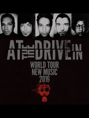 At The Drive In at Bill Graham Civic Auditorium