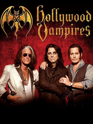 The Hollywood Vampires Poster