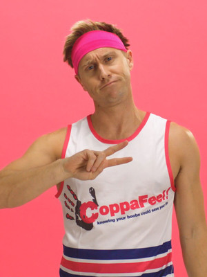 Russell Howard - Coppafeel Benefit Poster