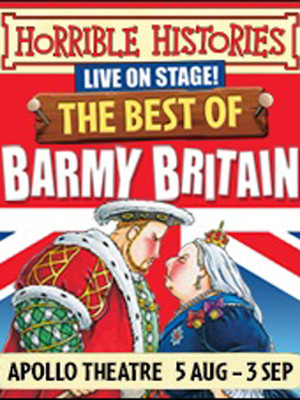 Horrible Histories - Best of Barmy Britain Poster