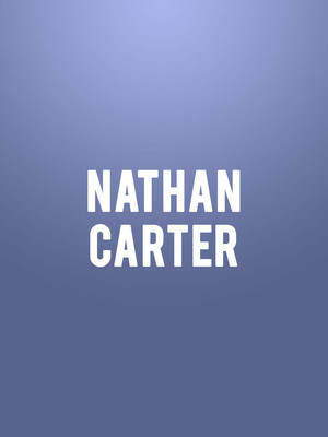 Nathan Carter, Wilshire Ebell Theatre, Los Angeles