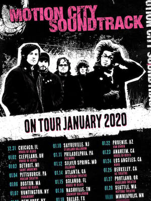Motion City Soundtrack Poster