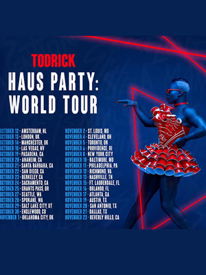 Todrick Hall at Zilkha Hall
