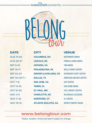 Belong Tour - 2 Day Pass Poster