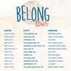 Belong Tour 2 Day Pass, Portland Memorial Coliseum, Portland