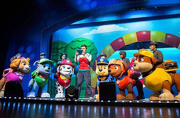 Paw Patrol, Wang Theater, Boston