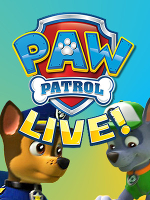 Paw Patrol at Ovens Auditorium