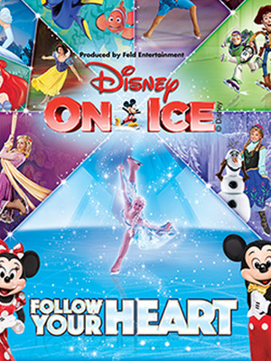 Disney on Ice Follow Your Heart, Oracle Arena, San Francisco
