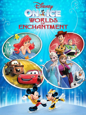 Disney On Ice Worlds of Enchantment, Xcel Energy Center, Saint Paul