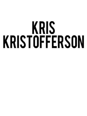Kris Kristofferson, Palace of Fine Arts, San Francisco