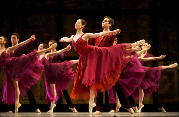 San Francisco Ballet Trio Thatcher Within the Golden Hour, War Memorial Opera House, San Francisco
