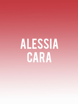 Alessia Cara at Nob Hill Masonic Center