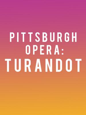 Pittsburgh Opera Turandot, Benedum Center, Pittsburgh