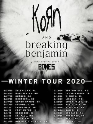 Korn & Breaking Benjamin at Reno Events Center