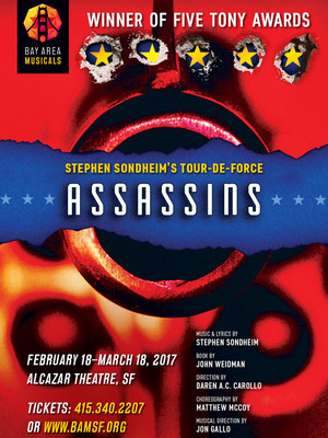 Assassins, Alcazar Theatre, San Francisco