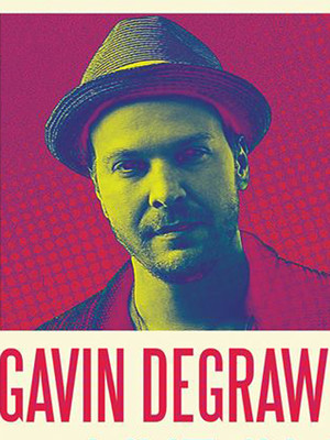 Gavin DeGraw at Carolina Theatre - Fletcher Hall