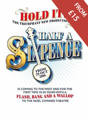 Half a Sixpence at Noel Coward Theatre