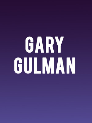 Gary Gulman at Bomhard Theatre