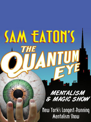 Sam Eaton's The Quantum Eye Poster