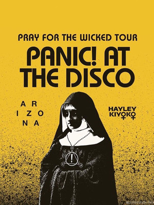 Panic at the Disco, Tingley Coliseum, Albuquerque