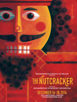 Indianapolis School of Ballet - The Nutcracker Poster