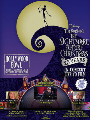 Danny Elfman's Nightmare Before Christmas Live Poster