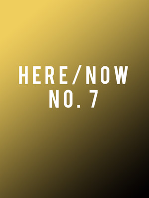 New York City Ballet: Here and Now No. 7 Poster