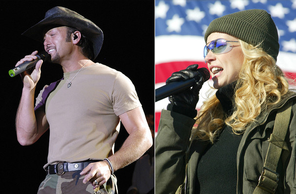 Tim McGraw and Faith Hill, Staples Center, Los Angeles