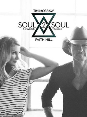 Tim McGraw and Faith Hill at Jacksonville Veterans Memorial Arena