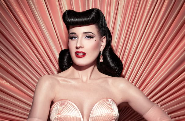 Dita Von Teese, Palace of Fine Arts, San Francisco