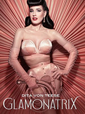 Dita Von Teese at Fox Performing Arts Center